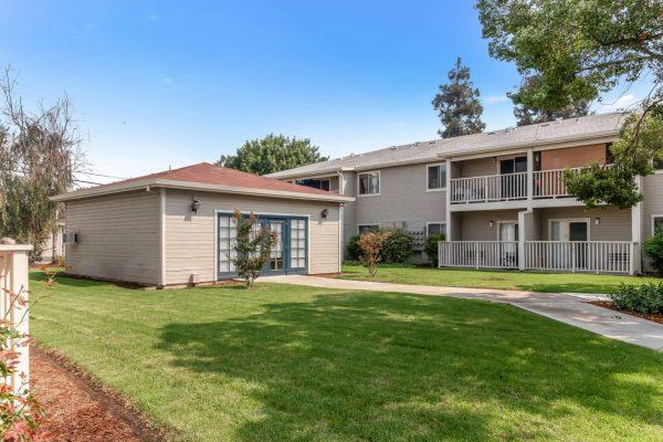 Spartan Manor Senior Apartments for rent in Modesto CA - Outdoor