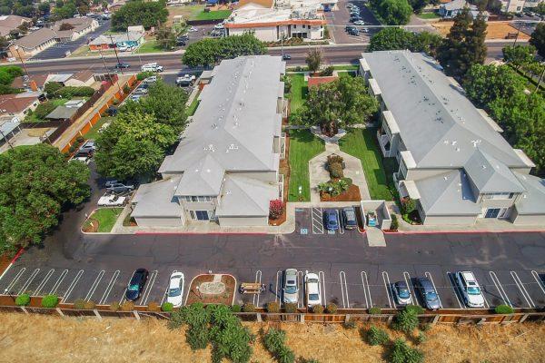 Spartan Manor Senior Living Apartments in Modesto CA