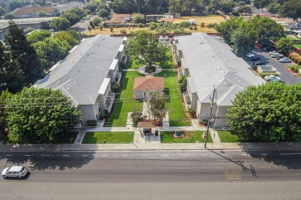 Spartan Manor Senior Apartments in Modesto CA